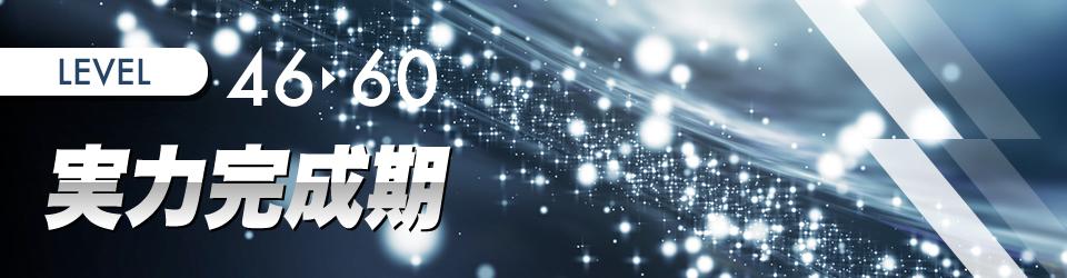 実力完成期(レベル46〜)